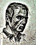 Иван Агеев. Автопортрет. Московский живописец. Экспрессионист