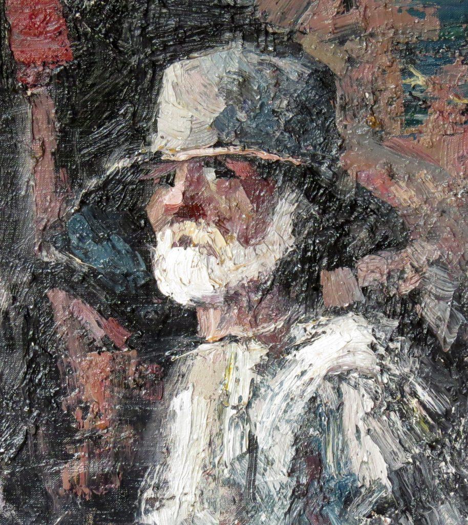 Иван Агеев. Портрет Николая Николаевича. 40х30 см. Холст, масло